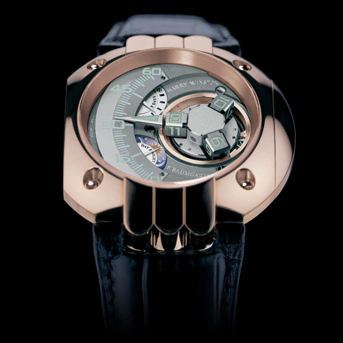 Swiss timepieces satellite watch Opus 5