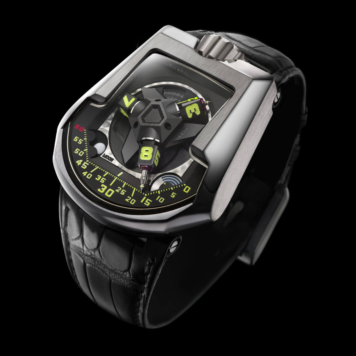 Swiss timepieces satellite watch UR-202