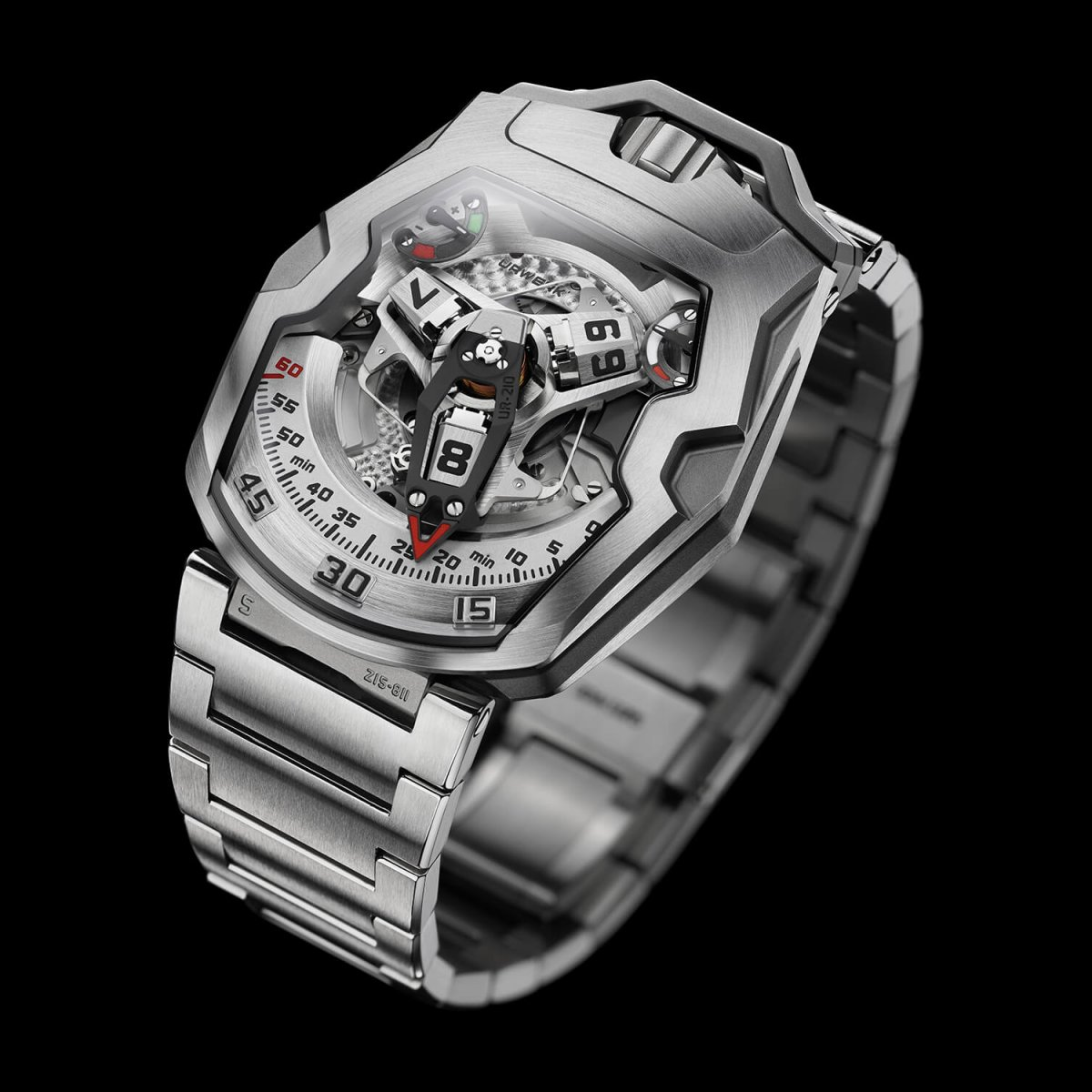 Swiss timepieces satellite watch UR-210